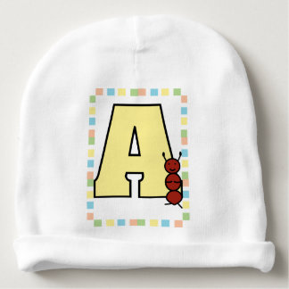 A is for Ant Baby Beanie