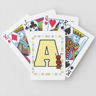 A is for Ant Bicycle® Playing Cards