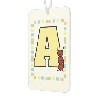 A is for Ant Car Air Freshener