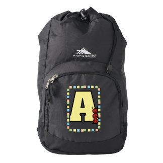 A is for Ant High Sierra Backpack