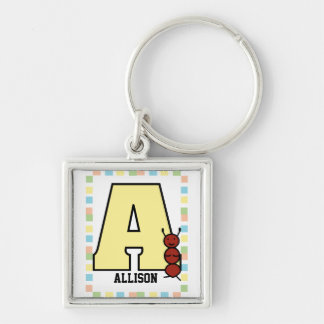 A is for Ant Keychain