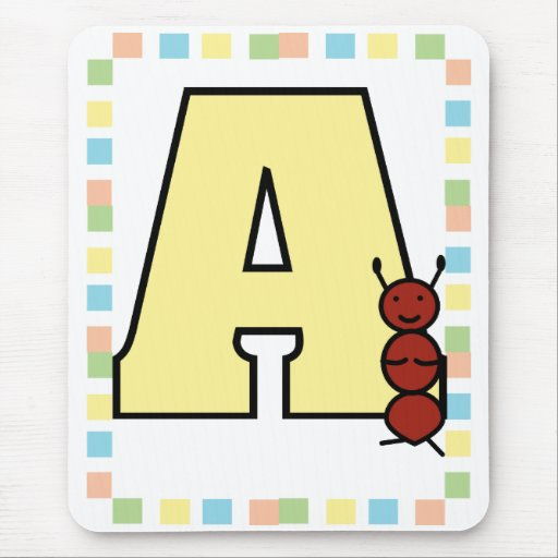 A is for Ant Mousepad