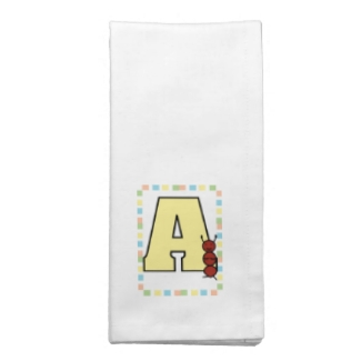 A is for Ant Napkin