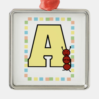 A is for Ant Ornament