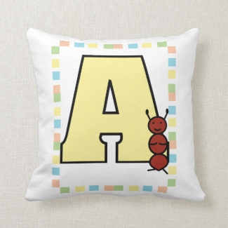 A is for Ant Pillow