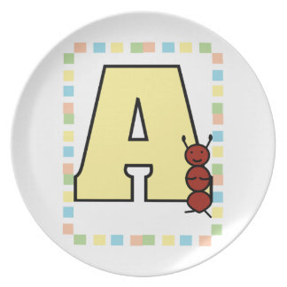 A is for Ant Plate