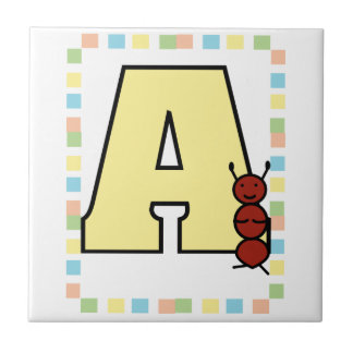 A is for Ant Tile