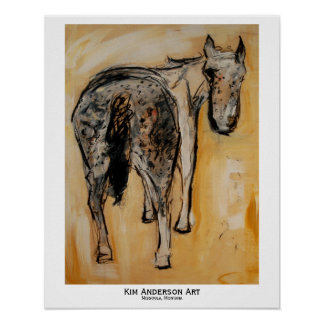 A is for Appaloosa Posters