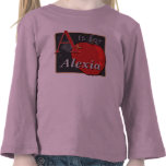 A Is For Apple A Is For Alexia T Shirt
