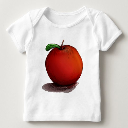 A is for Apple Baby T-Shirt