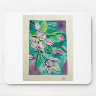 A is for Apple Blossoms Mouse Pad