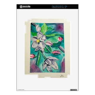 A is for Apple Blossoms Skin For iPad 2
