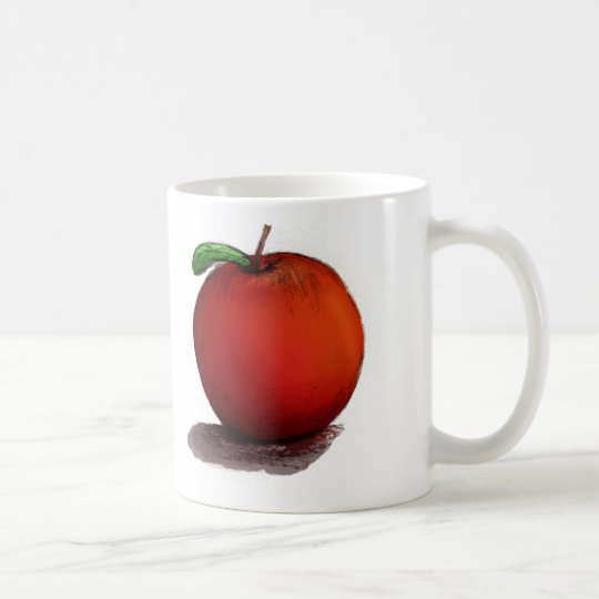 A is for Apple Coffee Mug