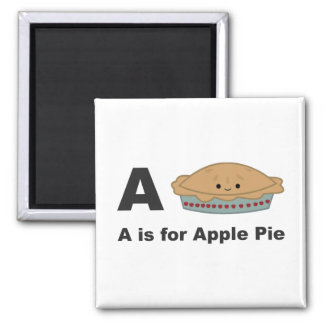 A is for Apple Pie Magnet