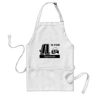 A Is For Appraisals Adult Apron