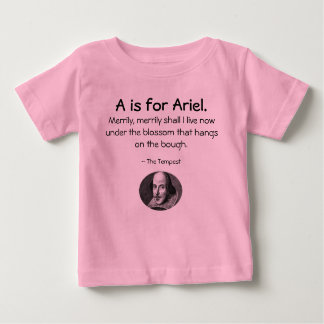A is for Ariel • A Little Shakespeare Shirt