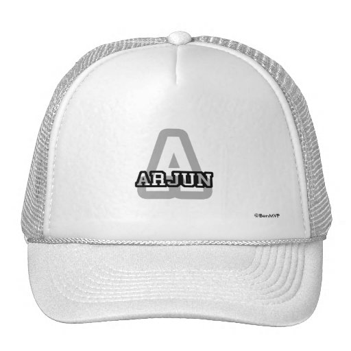 A is for Arjun Trucker Hat