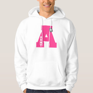 A is for Army Hooded Pullovers