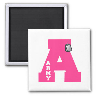 A is for Army Magnet