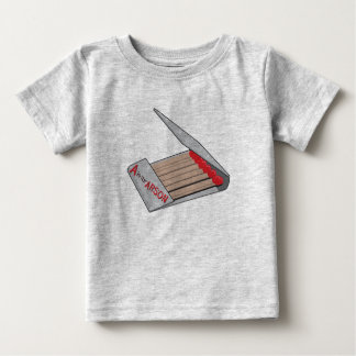 A is for Arson Baby T-Shirt