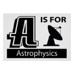 A Is For Astrophysics Poster