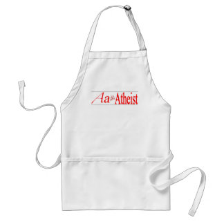 A is for Atheist Adult Apron
