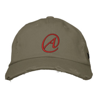 """""""A"""" Is for Atheist Embroidered Baseball Cap"""