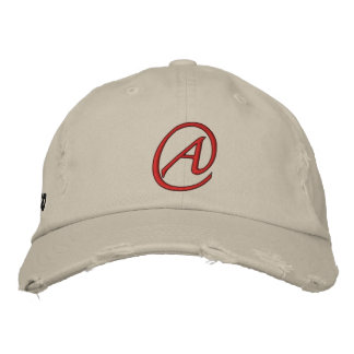 A is for Atheist Embroidered Hat