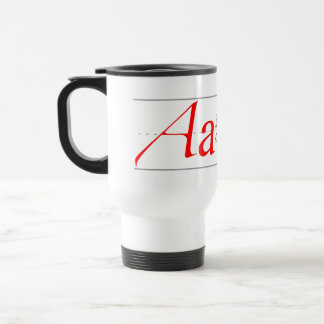 A is for Atheist Travel Mug