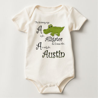 A is for Austin, Baby Gator Tee