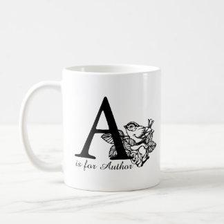 A is for Author Coffee Mug
