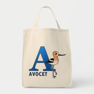 A is for Avocet Bag