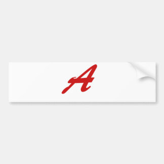 A is for Awesome Bumper Sticker