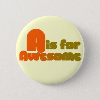 A is for Awesome Button