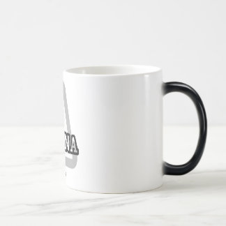A is for Ayana Magic Mug