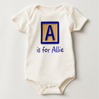 A is for... baby bodysuit