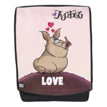 "A. J. HOGG ""LOVE"" BACKPACK"