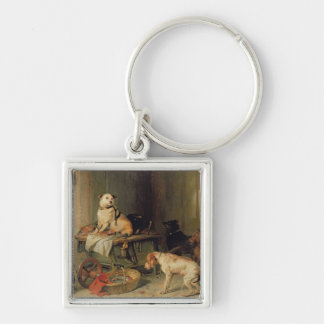 A Jack in Office, c.1833 Keychain