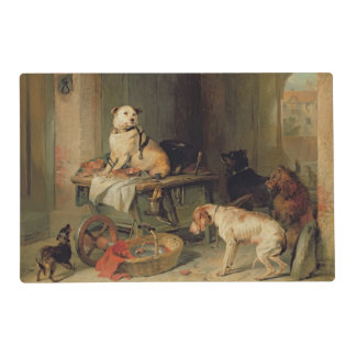 A Jack in Office, c.1833 Placemat
