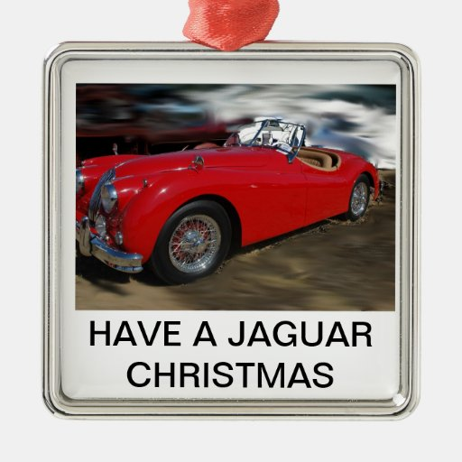 A JAG CHRISTMAS ORNAMENTS