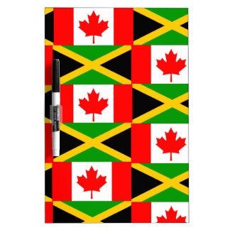 a jamaican canadian dry erase whiteboard
