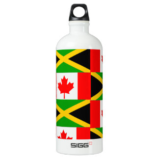 a jamaican canadian SIGG traveler 1.0L water bottle