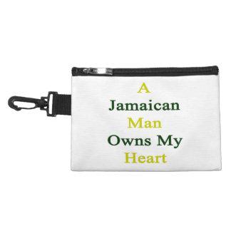 A Jamaican Man Owns My Heart Accessory Bag