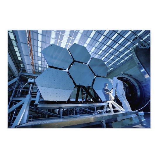 A James Webb Space Telescope array Photo Print