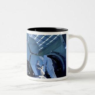 A James Webb Space Telescope array Two-Tone Coffee Mug