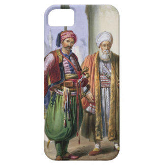 A Janissary and a Merchant in Cairo, illustration iPhone 5 Covers