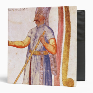 A Janissary or soldier, 1567 Binder