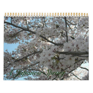 A Japanese Spring Wall Calendars
