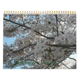 A Japanese Spring Calendar