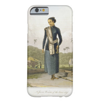 A Javan Woman of the Lower Class, plate 3 from Vol Barely There iPhone 6 Case